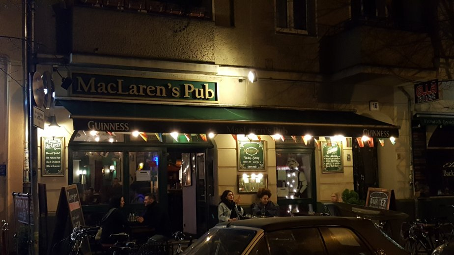 Experience Ireland, America and Germany in this quirky pub
